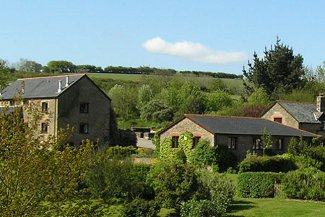Wheel Farm Cottages in Combe Martin, Devon