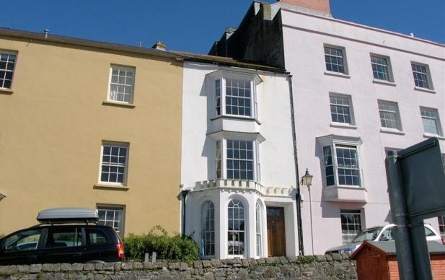 White House in Tenby, Pembrokeshire