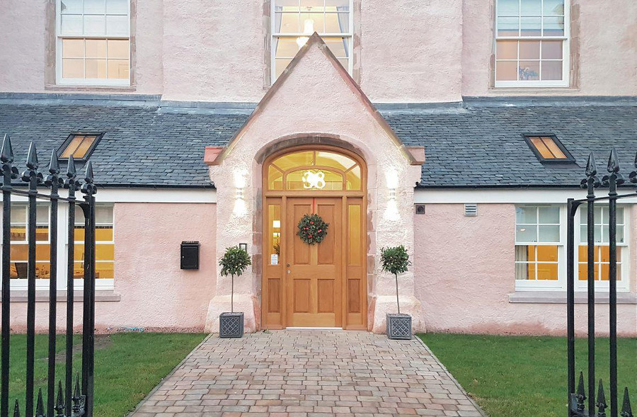 Ardconnel Court Apartments in Inverness, Scottish Highlands