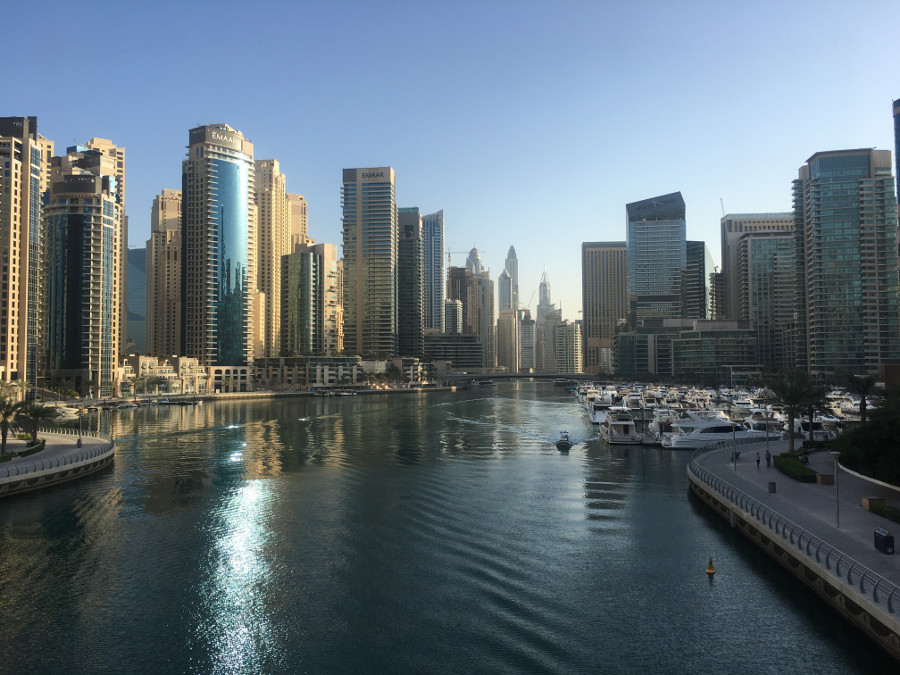 Dubai Marina is a 2 minute walk from City Premiere Marina Hotel Apartments
