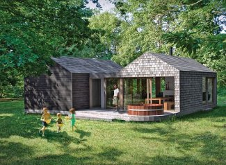 Burnbake Forest Lodges in Wareham, Dorset