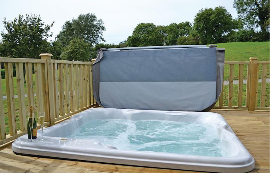 Orchard, Bluebell, Cowslip, Foxglove at Celtic Escapes all have a private hot tub