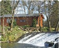 Dollar Riverside Lodges in Scotland