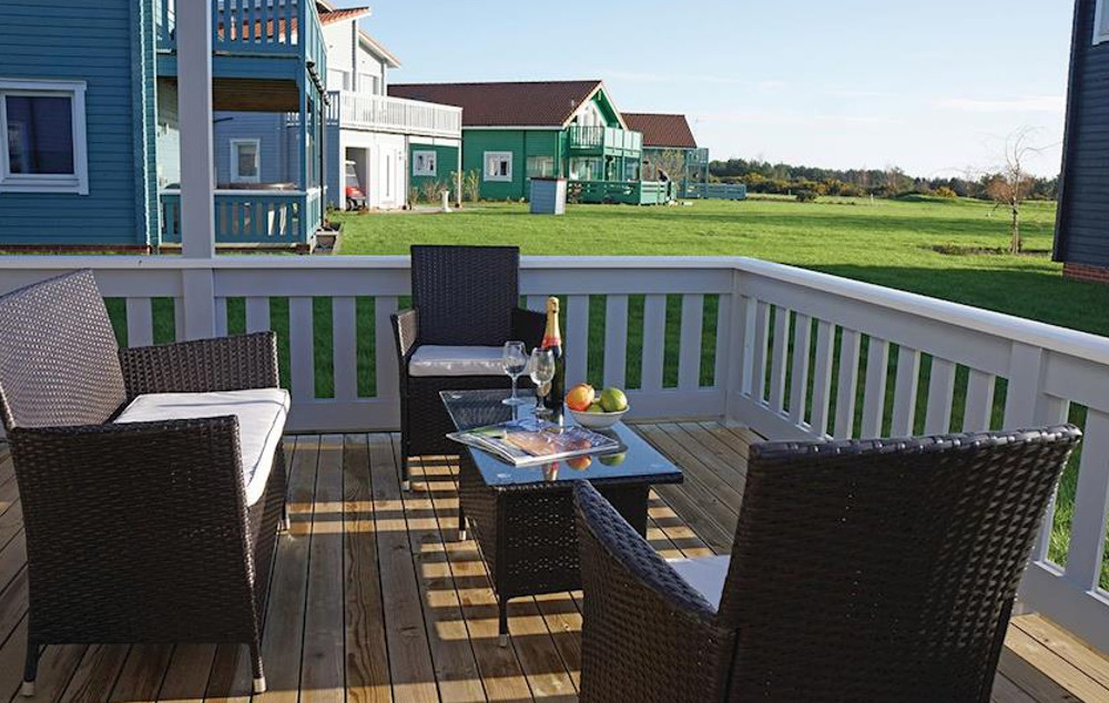 Make the most of the Norfolk fresh air with a the outdoor seating