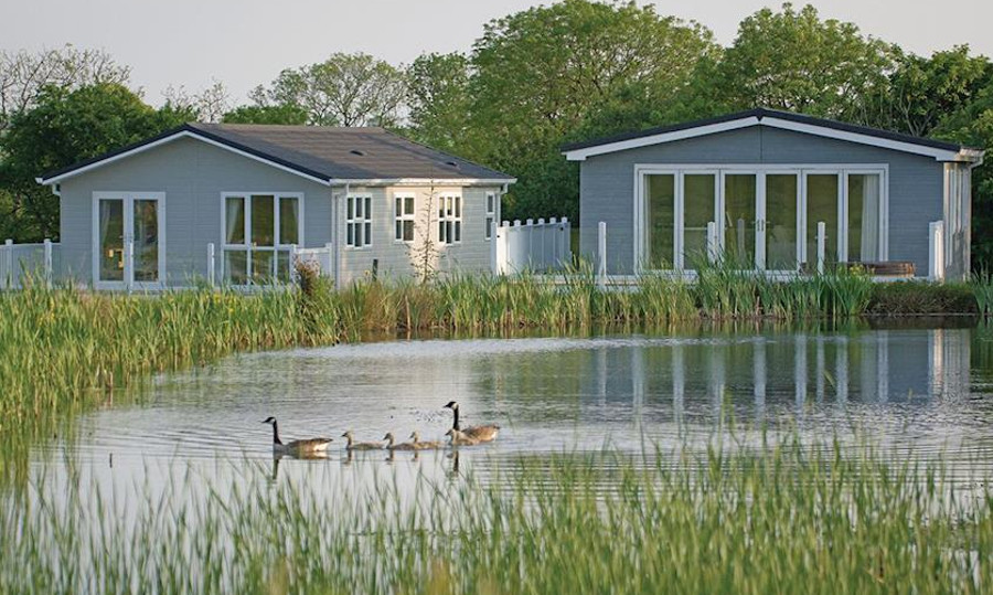 Florence Springs Lakeside Lodges in Tenby, South Wales