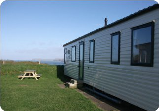 Harlyn Sands Holiday Park in Padstow, Cornwall