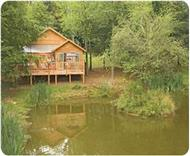 Henlle Hall Woodland Lodges in Shropshire