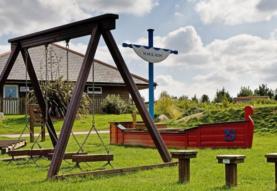 Monkey Tree Holiday Park has a childrens' playground - there is an indoor soft play area too