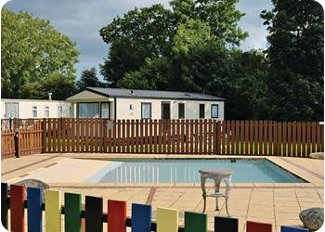 Noble Court Holiday Park in Narberth, Pembrokeshire
