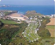 Porth Beach Holiday Park in Cornwall