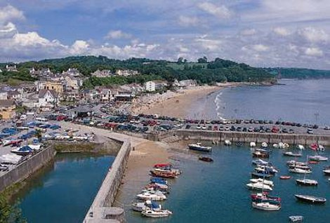 The harbour at Saundersfoot