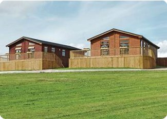 The lodges at Weston Wood Lodges