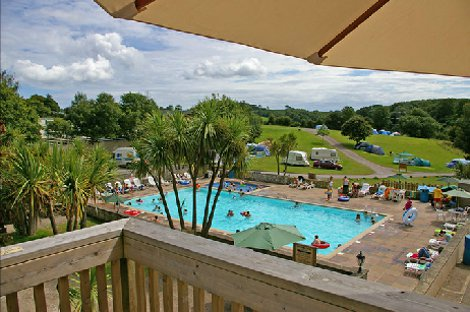 The kids will enjoy the pool at Whitehill Country Park