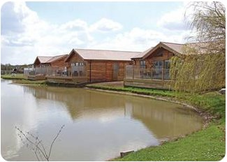 Willow Lakes Lodges in Ashby Cum Fenby, Lincolnshire