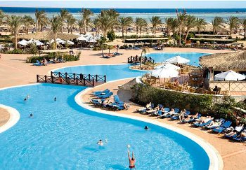 Jaz Mirabel Beach in Sharm El Sheikh, Egypt
