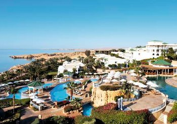 The Hyatt Regency in Sharm El Sheikh, Egypt