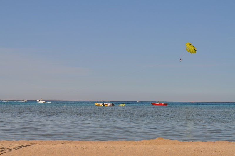 Water sports at Jaz Mirabel Beach in Sharm El Sheikh