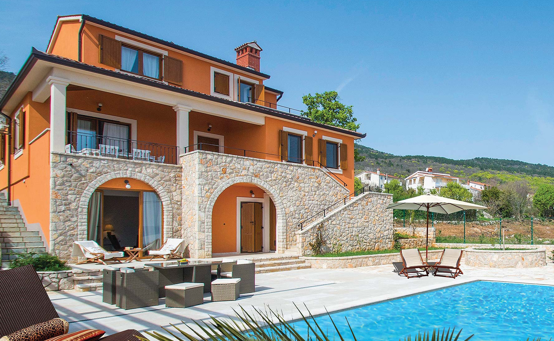 Villa La Beata in Istria, Croatia
