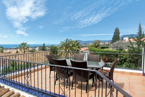 Views from Villa Panorama, Marbella