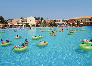 Thomas Cook Aqualand Resort in Corfu